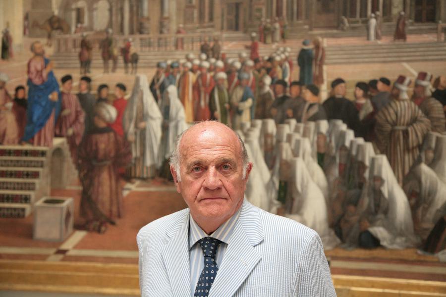 Aldo è il secondo marito di mia madre, Giorgina Venosta
