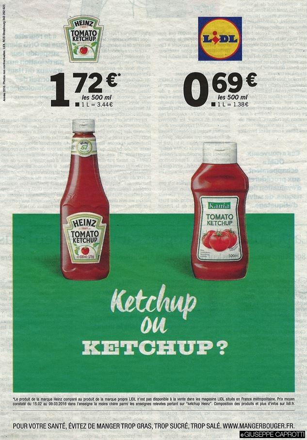 Lidl contro Heinz
