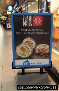 Albert Hejin to go sushi