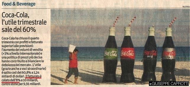 Coca cola Il Sole 10 febbraio 2016