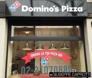 Domino Pizza vetrina