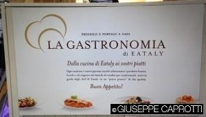 Eataly cartello gastronomia