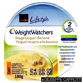 I prodotti della Coop Svizzera in collaborazione con Weight Watchers