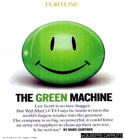 La svolta ambientalista di Wal-Mart (Agosto 2006)