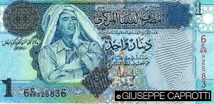 Libia banconota