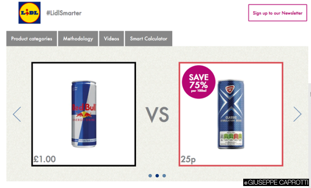 Lidl pub comparative 1