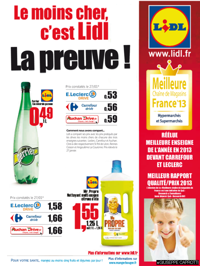 Lidl pub comparative 2
