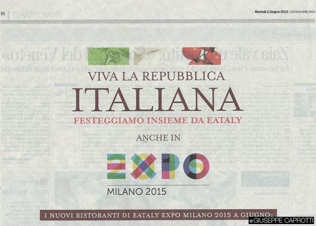 Corriere della Sera 2 giugno 2015