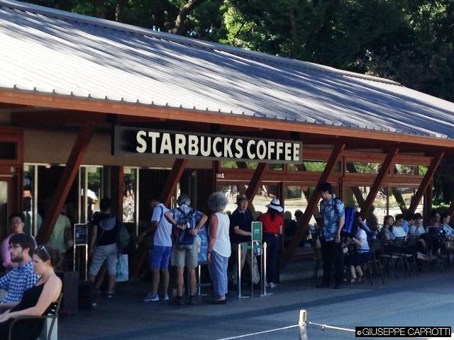 Starbuck's coffee tokyo