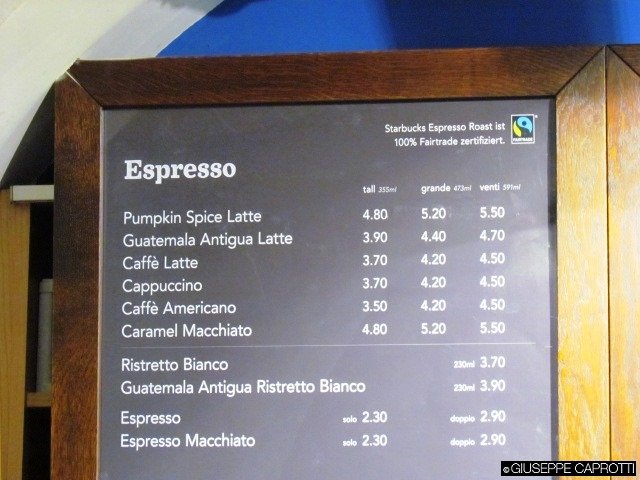 Starbucks espresso fairtrade