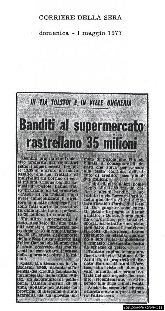 banditi al supermercato ungheria 1977
