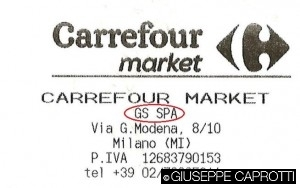carrefour market GS spa