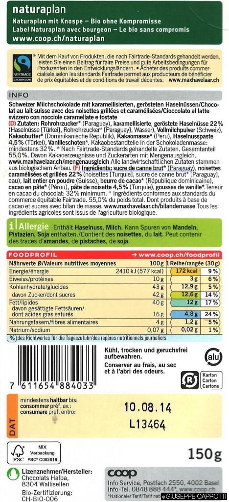 Un esempio virtuoso di etichettatura: la Coop svizzera