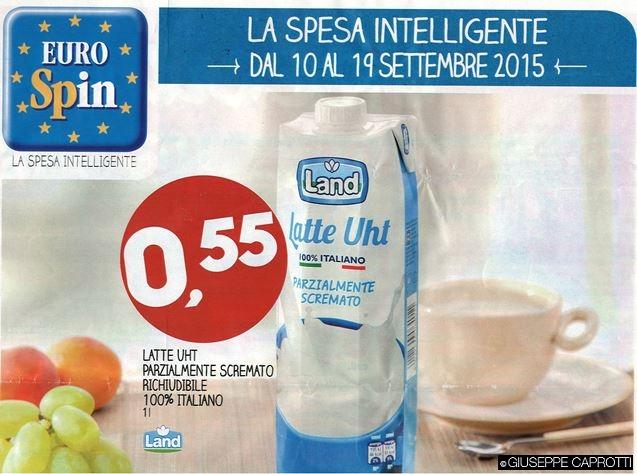 latte Eurospin