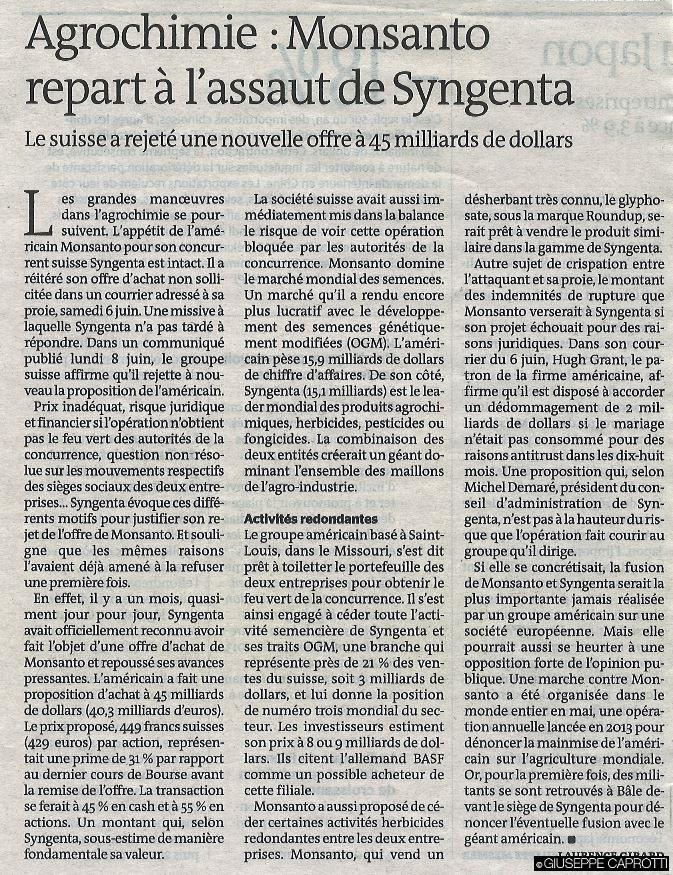 Le Monde 9 giugno 2015
