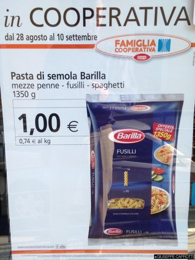 pasta barilla coop