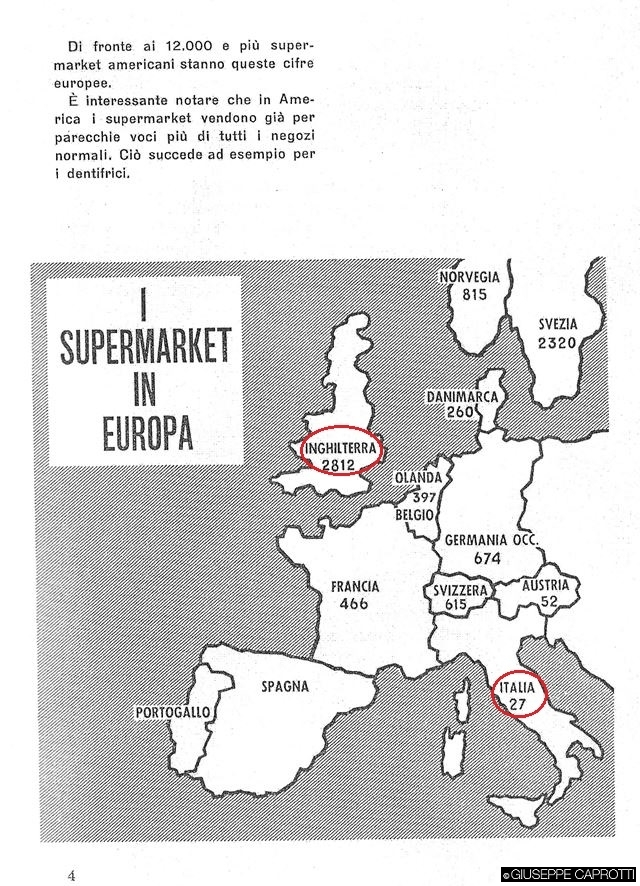 supermarket in europa denti 1959
