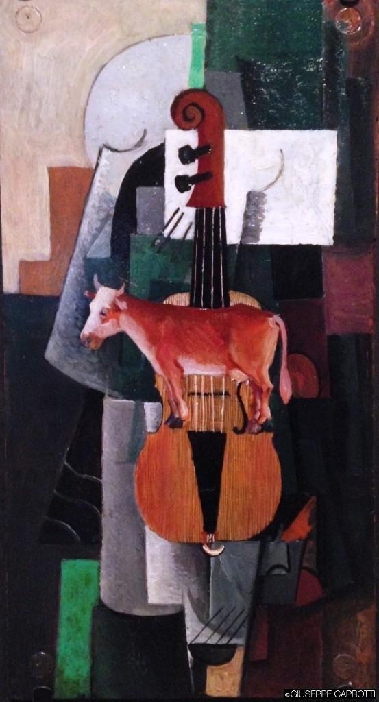 vacca e violino malevic
