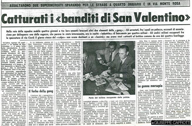 vallanzasca cattura febbraio 1972